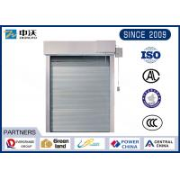 Wholesale High Speed Fireproof Window Shutters , White Fire Resistant Roller Shutters from china suppliers