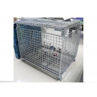 Buy cheap Multi Functional Metal Mesh Box  ,  Space Saving Wire Storage Cages from wholesalers