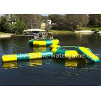 Buy cheap Great Fun Inflatable Water Trampoline Combo Durable Long Life Span from wholesalers