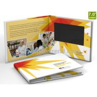 Buy cheap Customized printing 7inch lcd screen video brochure / lcd paper Video Brochure for advertising from wholesalers