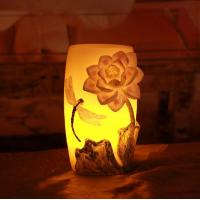 Buy cheap Embossed candle,jar candle holders,fancy flower candles,Embossed flower LED candles from wholesalers