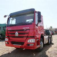 Buy cheap 371hp Tractor Head Truck 4x2 With Air Conditioner Manual Transmission Type from wholesalers
