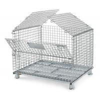 Wholesale galvanized metal wire mesh animal storage cager container from china suppliers