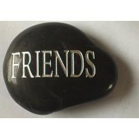 China Stone  -  Words carving Rain flower pebbles  lettering stones  SC-YHS00026 on sale