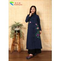 Buy cheap Chinese Traditional Embroidery Cotton Winter Clothing Embroidered Winter Coats from wholesalers