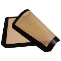 Professional Silicone Non Stick Baking Mat / Heat Resistant Silicone Pan Liners