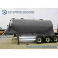 Buy cheap 3 Axle Conoid Dry Bulk Tanker Trailer 32 Cubic Meter High Performance from wholesalers