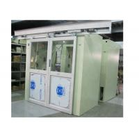 Buy cheap Customized Air Shower Tunnel For Clean Room 1 - 10 Person Noise <60dB from wholesalers