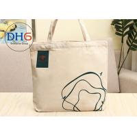 Buy cheap 12 OZ Cotton Canvas Tote Bag , Small Canvas Bags 30*40cm Light Weight Beige from wholesalers