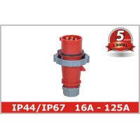 Buy cheap Red 4 Pin 3H Industrial Plugs And Connectors for Reefer Container from wholesalers