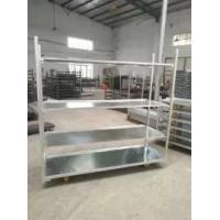 Buy cheap Metal Flower Cart  Shipping Cart Metal Plant Greenhouse Trolley Danish Cart from wholesalers