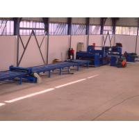 Buy cheap Standard cut to length line , hot rolled mild steel light pole machine for 6m 8m product