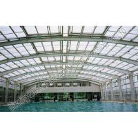 Buy cheap Durable Steel Structures Space Frame Roof  Swimming Pool Cover Simple Installation from wholesalers