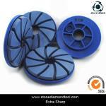 Buy cheap 125mm Diamond Snail Lock Edge Polishing Pads for Granite from wholesalers