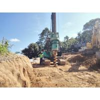 Buy cheap Pile Driving Equipment Rental For 28m Foundation Pile Drilling 8 - 30 rpm Rotary Speed from wholesalers