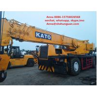 Buy cheap Original 50 Ton Crane Used Condition KATO KR-500H-V 50000 Kg Rated Load from wholesalers