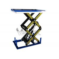 Buy cheap Electric Double Scissor Lifting Table With1000kg to 4000kg Load Capacity from wholesalers