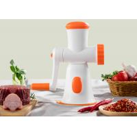 Buy cheap Eco Friendly Non Electric Food Processor / Fully Integrated Kitchen Meat Mincer from wholesalers