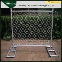 Buy cheap High Strength Temporary Chain Link Fence , Steel Chain Link Security Fence from wholesalers