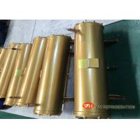 Buy cheap New Condition Stainless Steel Shell And Tube Heat Exchanger / Steam Heat from wholesalers