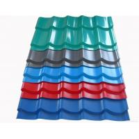 Buy cheap Coloured Corrugated Steel Roofing Sheets / panel ,House Exterior Roofing sheet from wholesalers