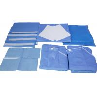 Buy cheap Commercial Cloth Surgical Pack Wraps Material Optimized Free Sample from wholesalers