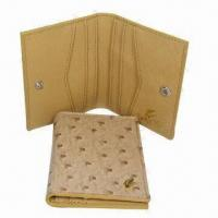 Wholesale Business Name Card Cases, Made of Grain PU, Comes in Fashionable Designs, Measures 10 x 8cm from china suppliers