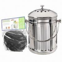 Buy cheap Stainless Steel Kitchen Scrap Can from wholesalers