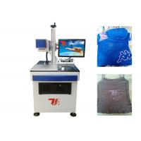 Buy cheap T - Shirt Co2 Laser Marking Machine , Laser Printing Machine For Clothes from wholesalers