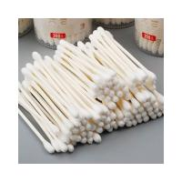 Buy cheap Single Use Sterile Wood Stick Cotton Swabs Suitable For Cleaning Machine from wholesalers
