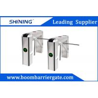 Wholesale 100W LED Display Waist Height Tripod Turnstile Gate With Tubular Bumper from china suppliers