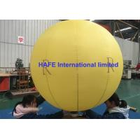 Buy cheap Sealed Lock Air Type Party Inflatable Advertising Balloon 2 Meter With Logo Printing from wholesalers