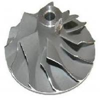 Wholesale High Tolerance Turbo Compressor Wheel , Bigger Compressor Wheel On Turbo With OEM Service from china suppliers