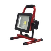 Buy cheap Portable Rechargeable LED Flood Light COB Bridgelux LED Source Lithium Battery from wholesalers