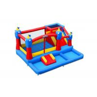 Buy cheap PVC Tarpaulins Attractive Party Inflatable Bouncer Combo With Slide  5 * 5 * 3m from wholesalers