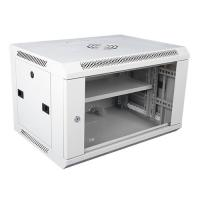 Buy cheap Wall Mount Locking Server Small Network Cabinet Mobile Server Rack In White from wholesalers