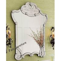 Buy cheap Garment Design Venetian Wall Mirror Flowers Etching 4mm Beveled Mirorr from wholesalers
