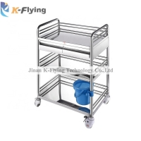 Buy cheap Silent 4 Casters Medical Trolley Cart For Beauty Salons from wholesalers