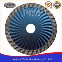 Buy cheap Customized Color Diamond Stone Cutting Blades For Wave Turbo Saw Blade from wholesalers