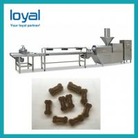Buy cheap Automatic Fully Production Line Dry Pet Dog Food Pellet Making Extruder from wholesalers