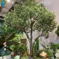Wholesale Fiberglass Trunk Artificial Olive Tree Large Size For Outdoor Landscape Decoration from china suppliers