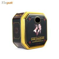 Buy cheap delicate octagonal tin box from wholesalers