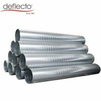 China Air Conditioning Stainless Steel Spiral Duct 12 Inch HVAC System Exhaust Hose on sale