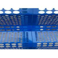 Buy cheap Anti - UV Windbreak Anti Dust Fence Panels Perforated Plate0.7mm Thickness from wholesalers