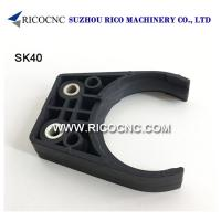 Buy cheap Black SK40 Tool Changer Grippers Plastic CNC Toolholder Forks SK Tool Clips for Tool Station from wholesalers