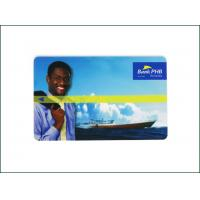 Buy cheap Programmable Bank Custom Magnetic Stripe Gift Cards 85.5*54*0.84mm Size Easy To Carry from wholesalers