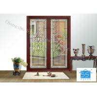 Buy cheap Fire Rated Door Glass Panels , Residential House Translucent Glass Panels from wholesalers