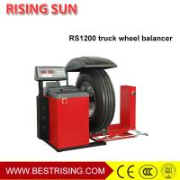 Buy cheap Self owned truck and car used Intelligent Wheel Balancer for garage from wholesalers