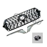 Buy cheap Chrome Adge Car Front Grill For Toyota Prado Fj200 2016-2018 OE Standard from wholesalers