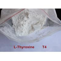High Purity Safe Weight Loss Drug Levothyroxine T4 Powder CAS 51-48-9 Manufactures